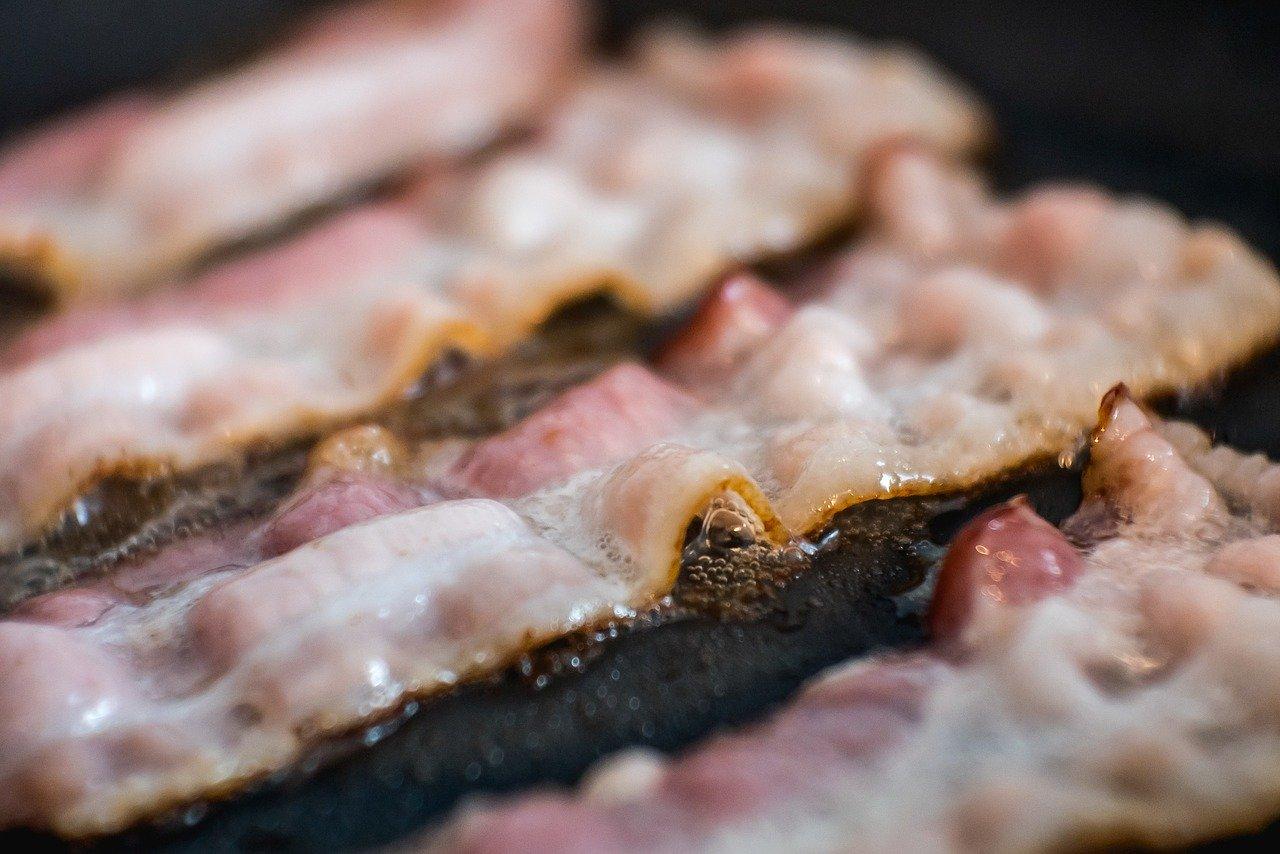 Embarazo y Bacon